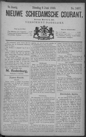 Nieuwe Schiedamsche Courant 1886-06-08