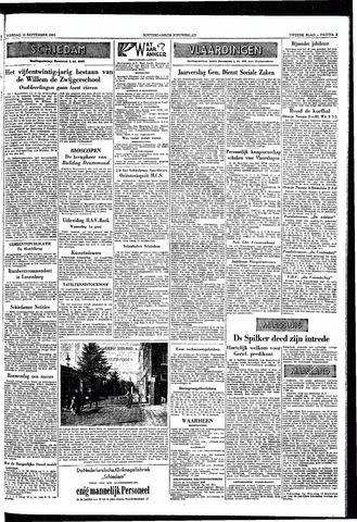 Rotterdamsch Nieuwsblad / Schiedamsche Courant / Rotterdams Dagblad / Waterweg / Algemeen Dagblad 1953-09-15