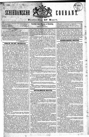 Schiedamsche Courant 1862-03-27