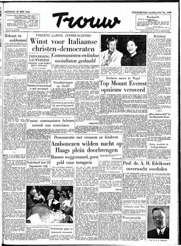 Trouw / De Rotterdammer 1956-05-29