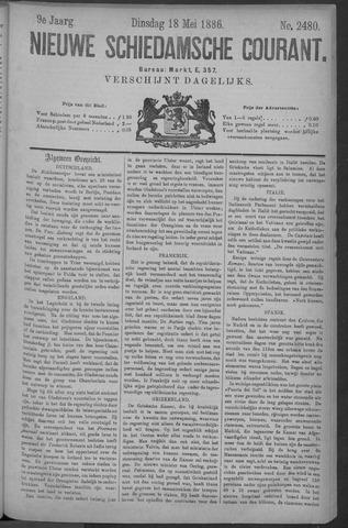 Nieuwe Schiedamsche Courant 1886-05-18