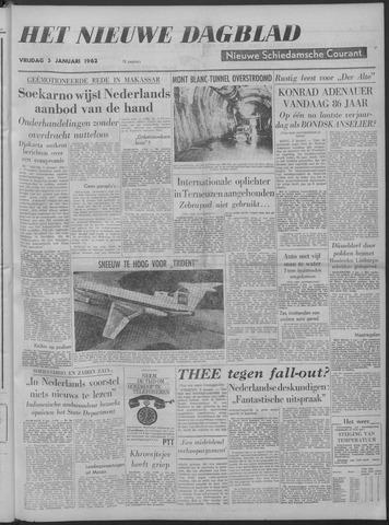 Nieuwe Schiedamsche Courant 1962-01-05
