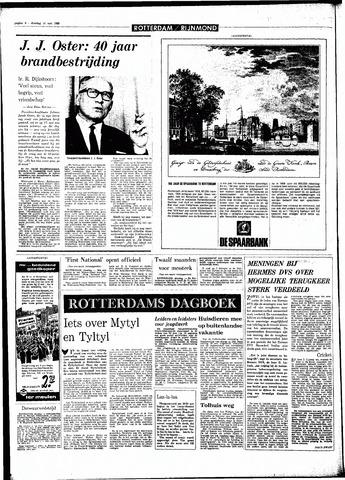 Rotterdamsch Parool / De Schiedammer 1968-05-14