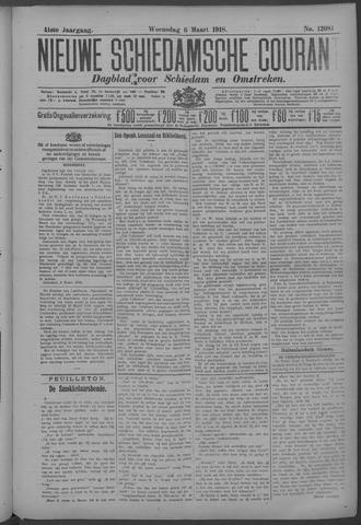 Nieuwe Schiedamsche Courant 1918-03-06