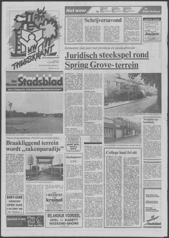 Het Nieuwe Stadsblad 1988-10-07
