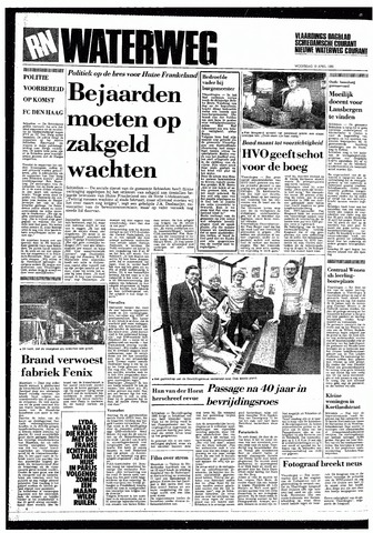 Rotterdamsch Nieuwsblad / Schiedamsche Courant / Rotterdams Dagblad / Waterweg / Algemeen Dagblad 1985-04-10