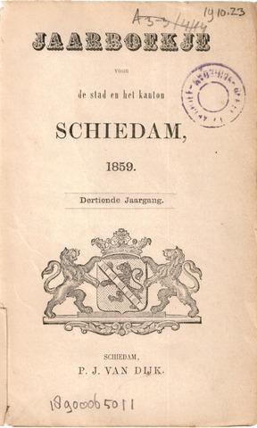 Schiedams Jaarboek 1859-01-01