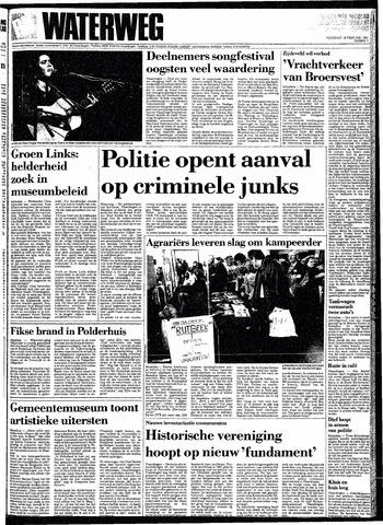 Rotterdamsch Nieuwsblad / Schiedamsche Courant / Rotterdams Dagblad / Waterweg / Algemeen Dagblad 1991-02-18