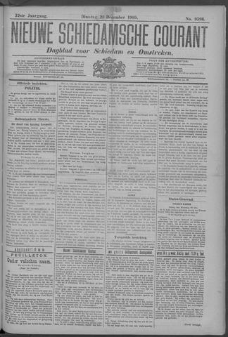 Nieuwe Schiedamsche Courant 1909-12-21