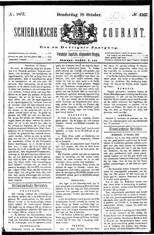 Schiedamsche Courant 1877-10-18