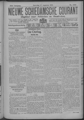 Nieuwe Schiedamsche Courant 1918-08-17