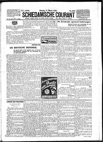 Schiedamsche Courant 1935-03-12