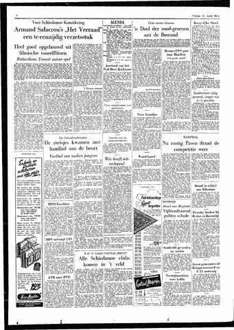 Rotterdamsch Parool / De Schiedammer 1955-04-15