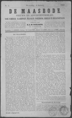 De Maasbode 1853