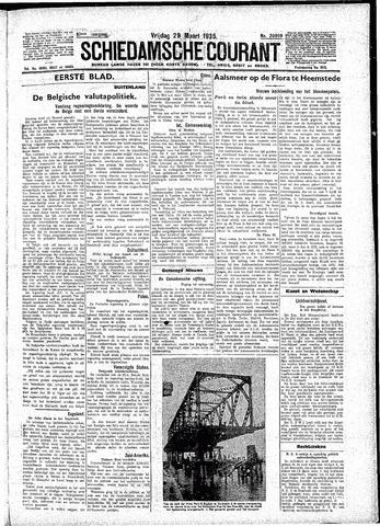 Schiedamsche Courant 1935-03-29