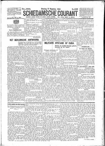 Schiedamsche Courant 1933-08-08
