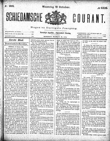 Schiedamsche Courant 1885-10-19