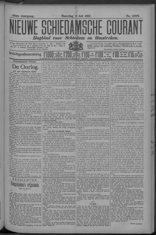 Nieuwe Schiedamsche Courant 1917-07-09