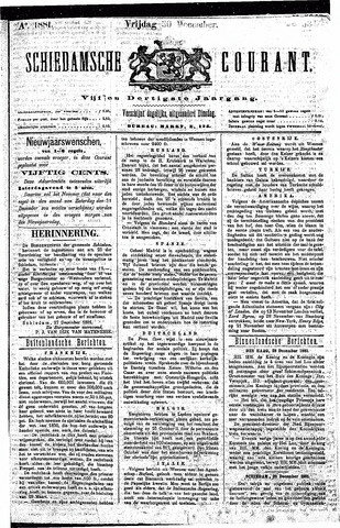 Schiedamsche Courant 1881-12-30