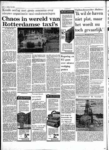 Rotterdamsch Parool / De Schiedammer 1970-07-03