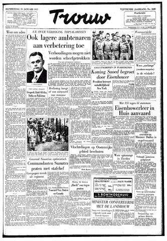 Trouw / De Rotterdammer 1957-01-31