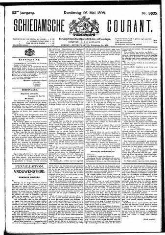 Schiedamsche Courant 1898-05-26