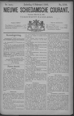 Nieuwe Schiedamsche Courant 1886-02-06