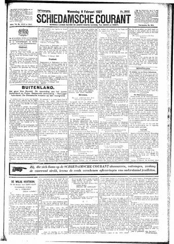 Schiedamsche Courant 1927-02-09