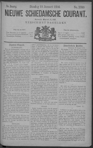Nieuwe Schiedamsche Courant 1886-01-19