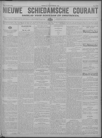 Nieuwe Schiedamsche Courant 1929-11-19