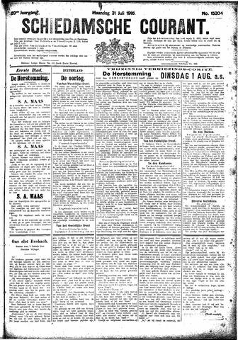 Schiedamsche Courant 1916-07-31