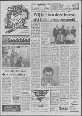 Het Nieuwe Stadsblad 1991-09-11