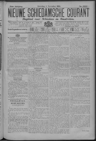 Nieuwe Schiedamsche Courant 1918-11-02