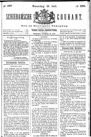 Schiedamsche Courant 1877-07-23