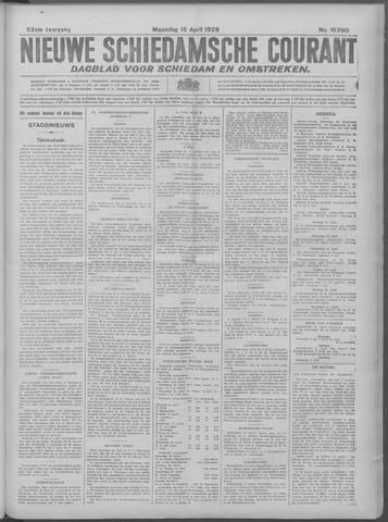 Nieuwe Schiedamsche Courant 1929-04-15