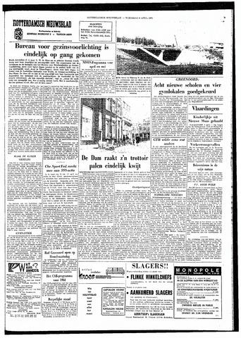 Rotterdamsch Nieuwsblad / Schiedamsche Courant / Rotterdams Dagblad / Waterweg / Algemeen Dagblad 1964-04-08