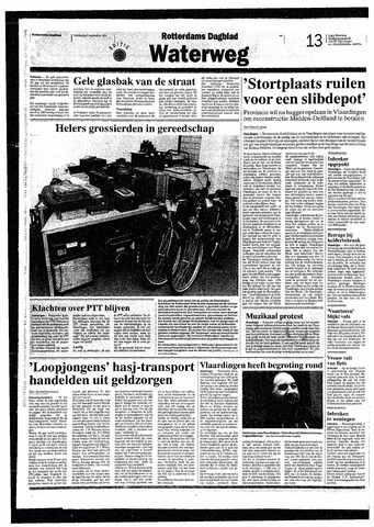 Rotterdamsch Nieuwsblad / Schiedamsche Courant / Rotterdams Dagblad / Waterweg / Algemeen Dagblad 1993-09-09