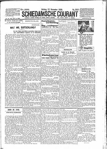 Schiedamsche Courant 1933-12-22