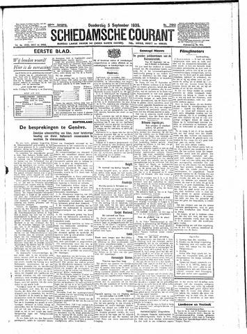 Schiedamsche Courant 1935-09-05