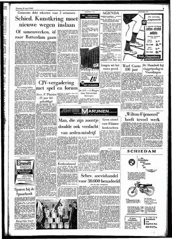 Rotterdamsch Parool / De Schiedammer 1962-04-10