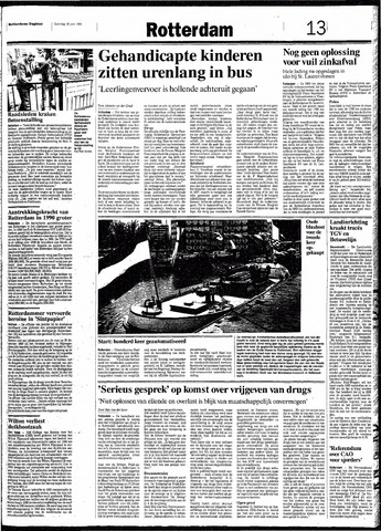 Rotterdamsch Nieuwsblad / Schiedamsche Courant / Rotterdams Dagblad / Waterweg / Algemeen Dagblad 1991-06-29