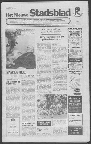 Het Nieuwe Stadsblad 1972-06-07
