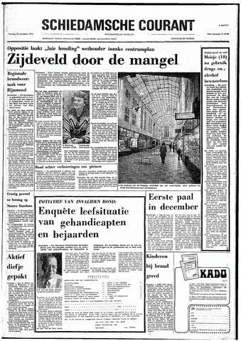 Rotterdamsch Nieuwsblad / Schiedamsche Courant / Rotterdams Dagblad / Waterweg / Algemeen Dagblad 1974-11-26