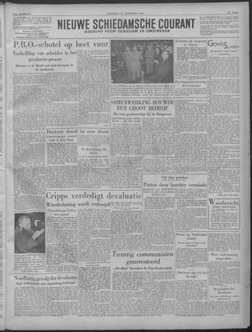 Nieuwe Schiedamsche Courant 1949-09-28