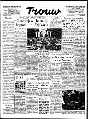 Trouw / De Rotterdammer 1960-02-18