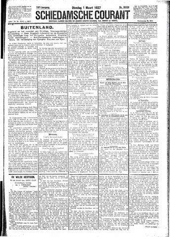 Schiedamsche Courant 1927-03-01