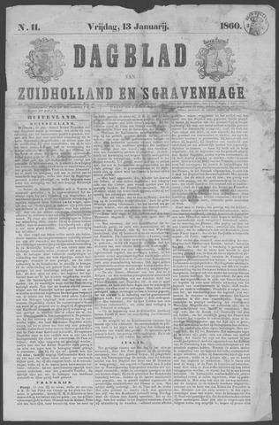 Dagblad van Zuid-Holland 1860-01-13