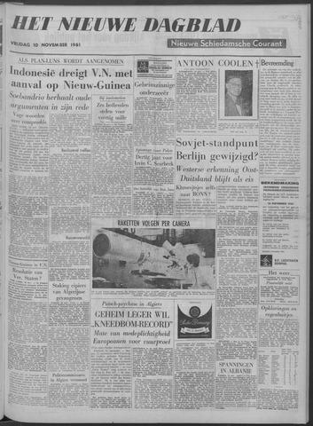 Nieuwe Schiedamsche Courant 1961-11-10