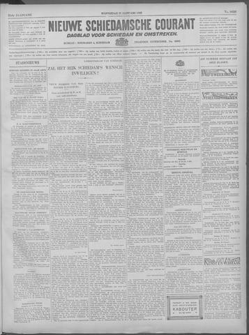 Nieuwe Schiedamsche Courant 1933-01-11