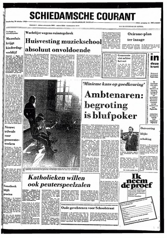 Rotterdamsch Nieuwsblad / Schiedamsche Courant / Rotterdams Dagblad / Waterweg / Algemeen Dagblad 1980-10-30